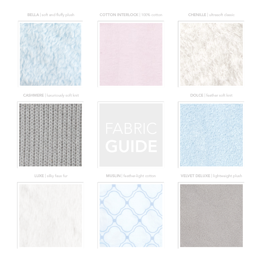 fabric guide - Chenille Blanket