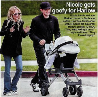 Us Weekly: Nicole Gets Goofy for Harlow