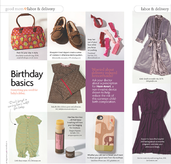 Little Giraffe in Pregnancy & Newborn Magazine