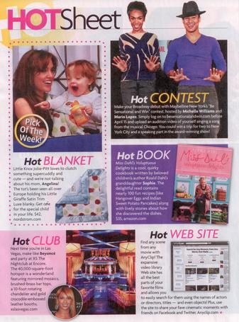 Star Magazine: Hot Sheet: Pick of the Week!