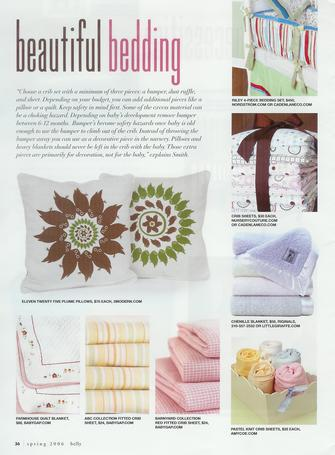 Belly Magazine: Beautiful Bedding