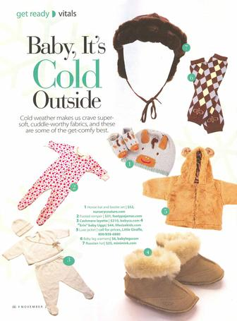 Pregnancy Magazine: Baby, It's Cold Outside