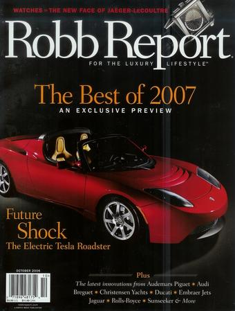 Robb Report Collection: Best of 2007
