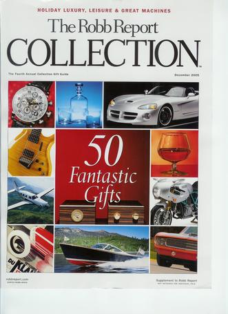 Robb Report Luxury Collection: 50 Fabulous Gifts
