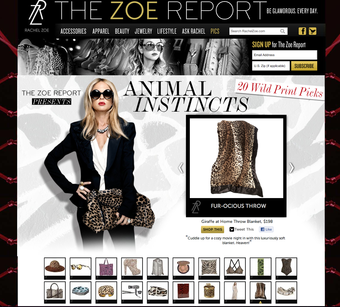 Little Giraffe on The Zoe Report