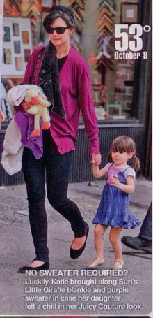 InTouch: Suri Cruise: No Sweater Required80