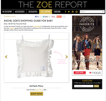 Little Giraffe Rachel Zoe