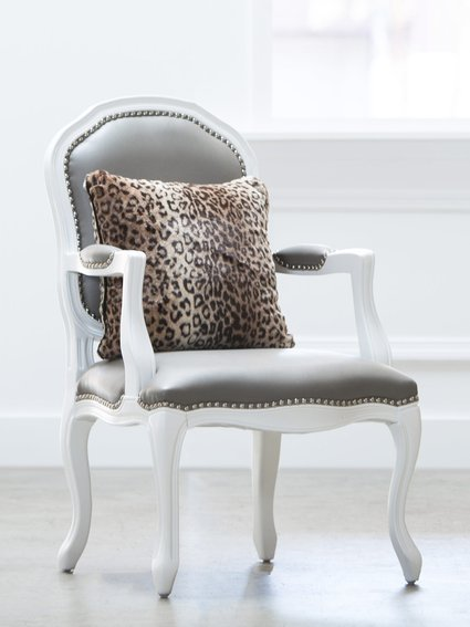 Luxe™ Leopard Throw Pillow