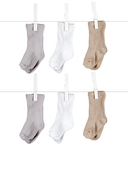 Silky Yarn Socks
