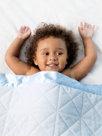 Bliss™ Cross Quilted Baby Blanket