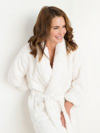 Stretch Chenille Adult Cover Up