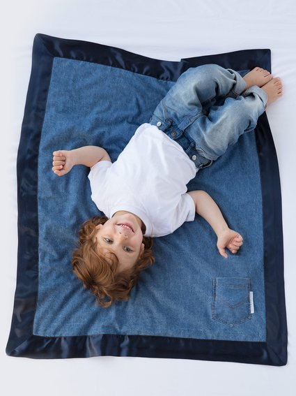 Indigo Pocket™ Baby Blanket