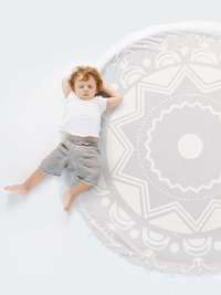 Bliss™ Compass Round Blanket