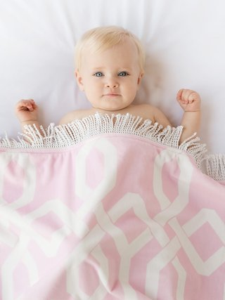 Bliss™ Windowpane Baby Blanket