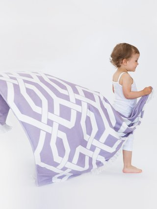 Bliss™ Windowpane Toddler Blanket