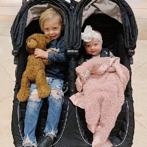Strollin' with the cutest duo!