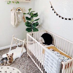 This is what boho-dreams are made of...  Nursery shot by @thedesertmermaids.