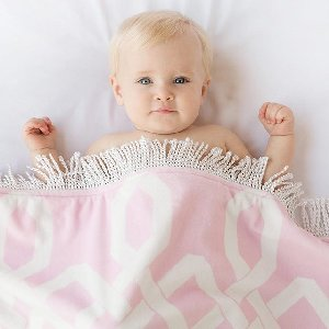 We hope to spread some LOVE and light.   Enjoy up to 60% off a curated assortment of baby blankets, throws, pillows, and more while supplies last!